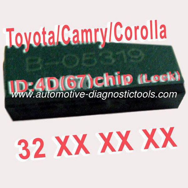 4D 67 Duplicable Chip 32XXX Car Key Transponder Chip for Toyota / Camry / Corolla