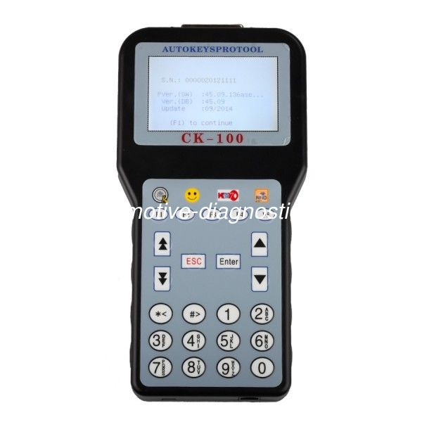 CK-100 Auto Car Key Programmer Multi-Language V45.09 Version