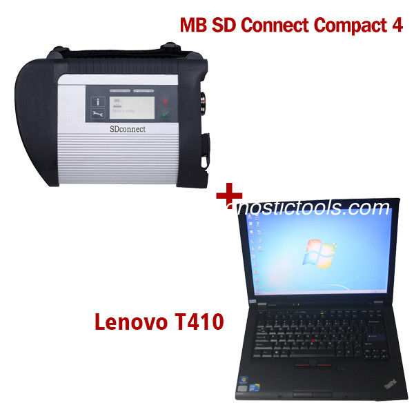 2020.3V Wireless MB SD C4 Mercedes Diagnostic Tool With I5 CPU 4G RAM Lenovo T410