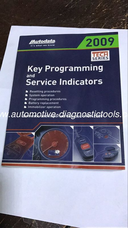Key Programming Service Book, Key Programmer and Service Manual