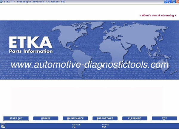ETKA Electronic Catalogue V7.5 For Audi VW Seat Skoda