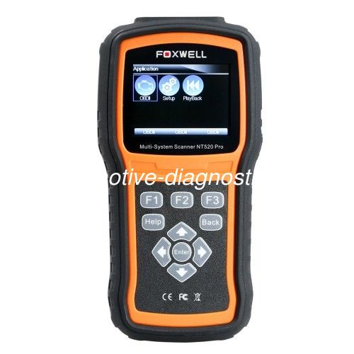 Foxwell NT520 Pro Automotive Diagnostic Tool Support Read & erase Code, Live Data , Adaptation Coding and Programming