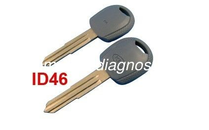 Kia Transponder Key Chip Id46, Custom Kia Key Blanks