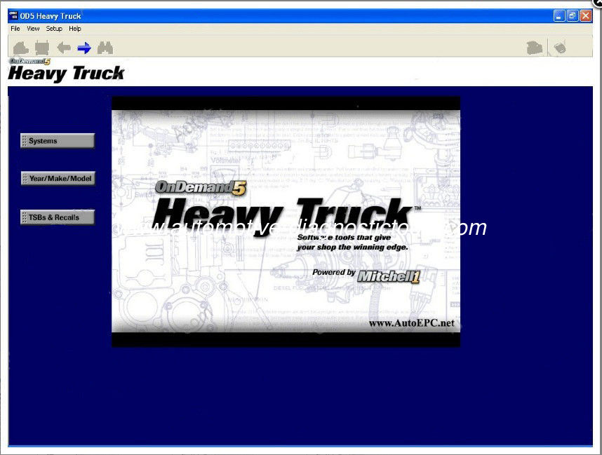 Mitchell On Demand5 Heavy Trucks Edition, Automotive Diagnostic Software for , Mercedes