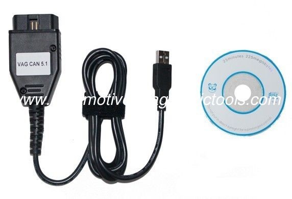 CAN Commander 5.1 for VW, AUDI, Auto Diagnostic Tool for  with 16pin Interface